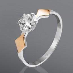 "Женское кольцо ""Кристалл"""