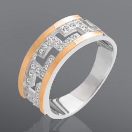 """Женское кольцо с камнями """"Греция"""""""