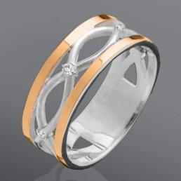 """Женское кольцо """"Лиана"""""""