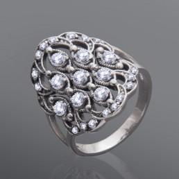 "Серебряное кольцо ""Волшебство"""