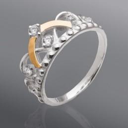 """Женское кольцо """"Тиара"""""""